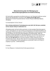 thumbnail of 20180112_Offenlegung der Nachschaetzungsergebnisse der Bodenschaetzung