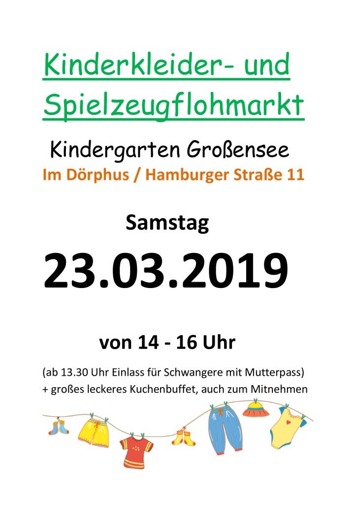 Kindergarten - Flohmarkt @ Dörphus