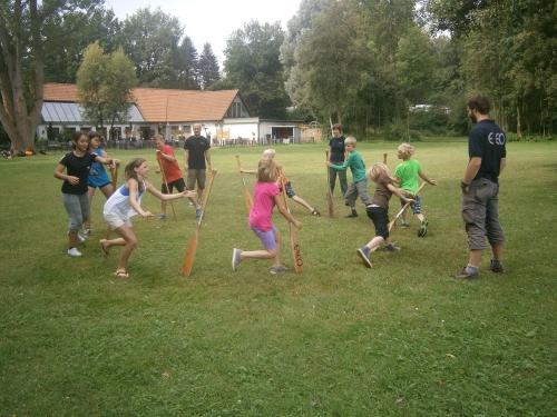 Ferienprogramm 2014 - Floßbau
