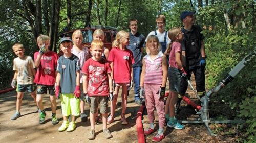 Ferienprogramm 2014 - Feuerwehr